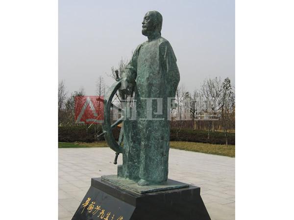 msports万博体育官网登录东亭广场华衡芳、李申像